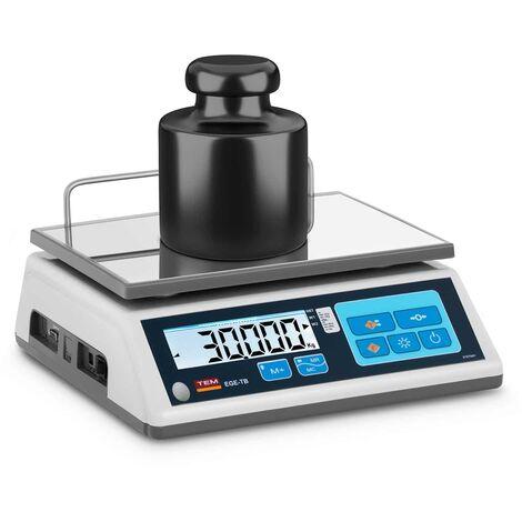 Balance De Table Cuisine Pèse-Aliment Électronique Digitale TEM 30 kg, ±10 g