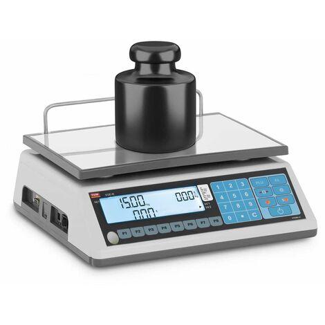 Balance Poids Prix De Marché Commerce Commerciale Électronique TEM 15 kg ±5 g