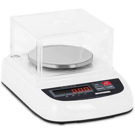 Balance De Précision Électronique Bijoux Table Laboratoire Couvercle 600g ±0,01g