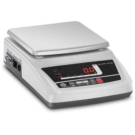 Balance De Précision Électronique Bijoux Table Laboratoire 6kg ±0,01g 4 unités