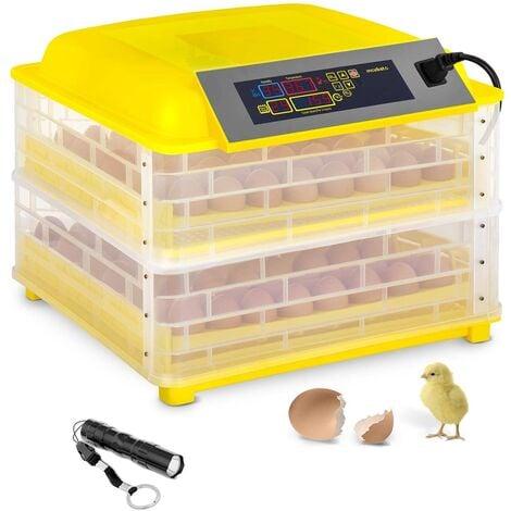 Couveuse à Oeufs Incubateur Matériel D'Éclosion Incubato 120W 112 Oeufs 30-39,5 °C