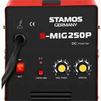 Poste à souder Mig Mag Soudage Soudure Semi-Auto A Fil Pro Semi-Automatique 250A