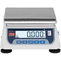 Balance de Cuisine Électronique Écran LCD Numérique Homologuée Précision 3kg ±1g