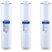 Aquaphor Pack De 3x Cartouche Filtrante Filtre à Eau Rechange Charbon Actif