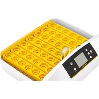 Couveuse à Oeufs Incubateur Matériel D'Éclosion Incubato 80W 32 Oeufs 30-39,5 °C