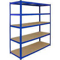 Deuba Estanter/ía de almacenaje para neum/áticos hasta 8 llantas 3 estantes carga m/áx de 795 kg de acero galvanizado