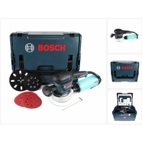 Bosch GEX 125-150 AVE Professional Lijadora excéntrica 400 W en maletín L-Boxx con accesorios ( 060137B102 )