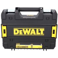 DeWALT DCD 791 D1 Taladro atornillador inalámbrico XR 18 V en maletín TSTAK + 1x Batería DCB 183 2,0 Ah + Cargador DCB 115