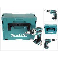 Makita DFS 250 ZJ Atornillador a batería 18V / Brushless + Makpac 2 - Sin batería, sin cargador incluido