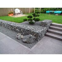 Gabion 80x40x30cm «made in Germany» - mailles carrées 10x10cm