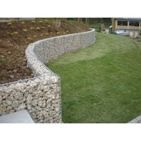 Gabion 100x40x20cm «made in Germany» - mailles carrées 5x5cm