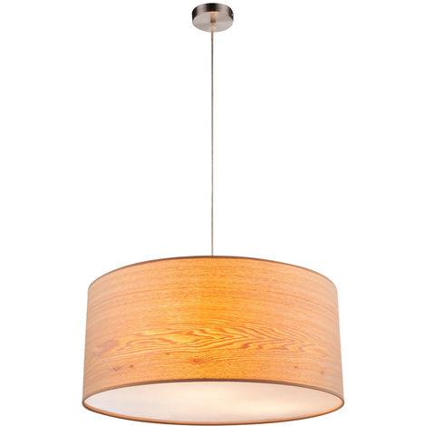 Pendule de haute qualité lampe de travail chambre plafond éclairage Textile Suspendu Lumière