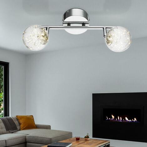 DEL Plafonnier Lampe éclairage Barres résidentiels chambre Chrome plancher éclairage Réglable