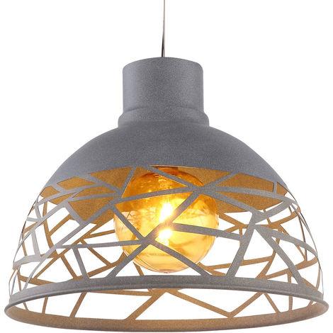 Lot de 2 LED lampe suspendue solaire plafond pendule spot extérieur ambre jardin terrasse balcon lampe