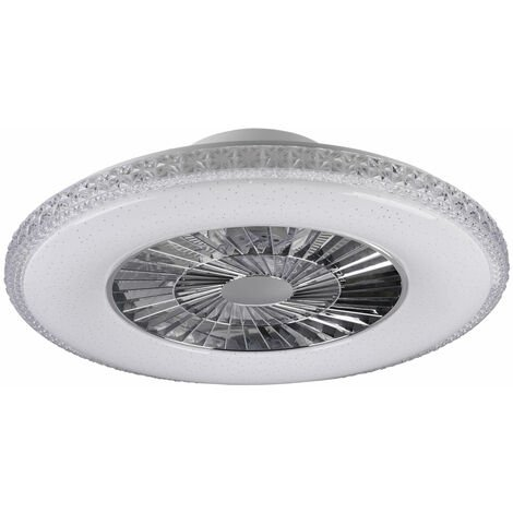 Ventilateur de plafond LED effet étoile REMOTE CONTROL Lampe Daylight dimmable Reality Lights R62412106
