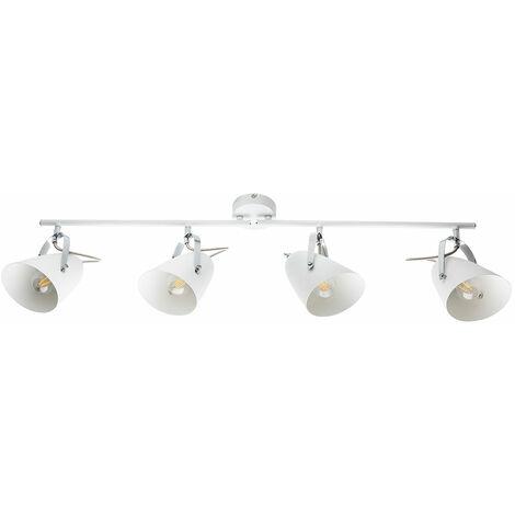 Plafonnier spot spot sur rail lampe de salle à manger FILAMENT dans un set comprenant des ampoules LED