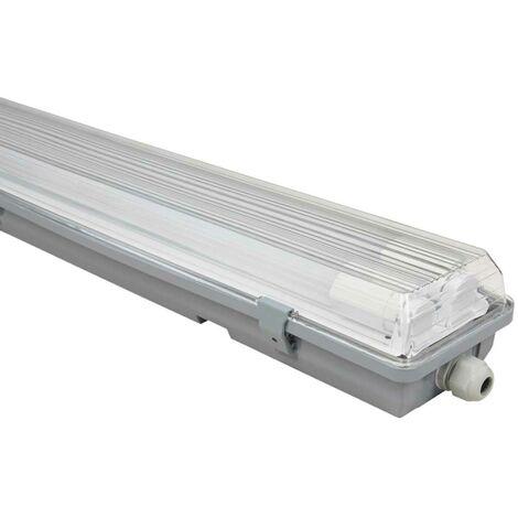 LED tubes tubes luminaire atelier entrepôt halls salle humide humide plafonnier MC SHINE 1451695
