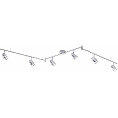 Plafonnier LED Poutres de salle à manger Spots Light Rail Swivable Lights Direct 11976-55