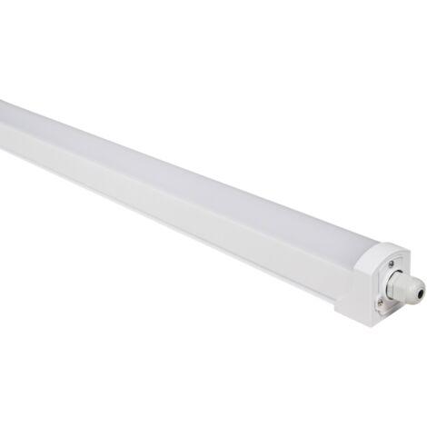 Luminaire LED étanche à l'humidité McShine '' FL-120 '', IP65, 3400lm, 4000K, 120cm, blanc neutre