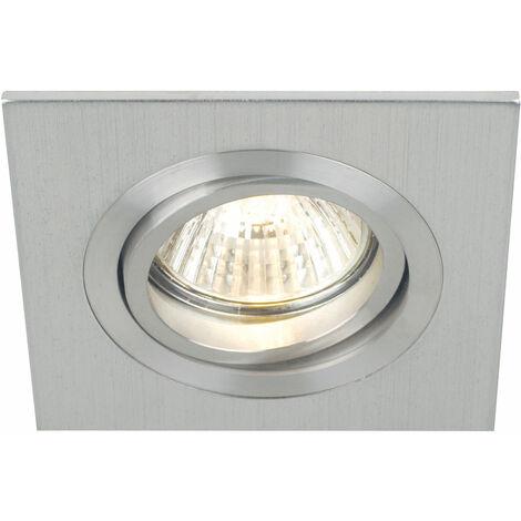 Plafonnier installation chambre d'amis Spot ALU orientable dans un ensemble comprenant une source de lumière LED