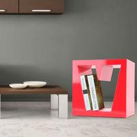 Meuble de séparation étagère en bois étagère pour la salle de séjour BHP Love B421016-5