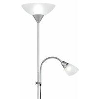Lampadaire design Plafonnier Projecteur Bras Flexo Lampe de lecture Interrupteur Reality R4393-87