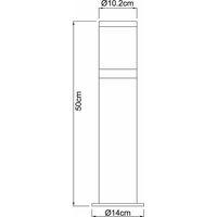 Lampadaire lampe de jardin lampadaire luminaire IP44 Globo XELOO 32015
