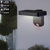 Applique d'extérieur LED SOLAR projecteurs de façade terrasses SENSOR lampe Sunshine 6962020