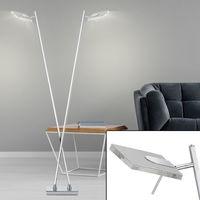 Lampadaire design LED salon salle à manger éclairage pied lampe spot réglable Briloner 7316-028T