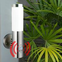 Applique d'extérieur éclairage de façade projecteurs de jardin éclairage de terrasse dans un ensemble comprenant des ampoules LED