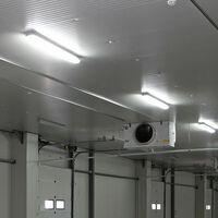 Lot de 2 baignoires LED lumières 70W lumière du jour entrepôt éclairage garage atelier plafonniers