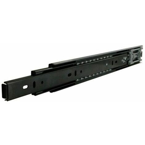 Coulisses de tiroir à billes - 40 kg - sortie totale - a : 300 mm - B : 300 mm - C : 96 mm - D : 96 mm - E : - - F : 16 mm - G : - - H : - - Longueur : 300 mm - TCASYSTEM - Matériau : Acier
