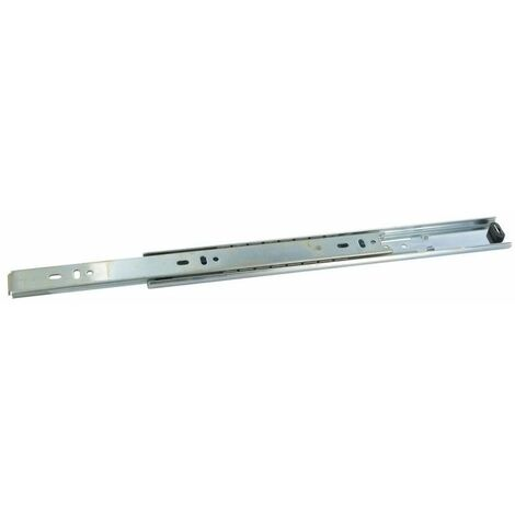 Coulisses de tiroir à billes - 30 kg - sortie 3/4 - Longueur : 300 mm - C : 160 mm - D : - - E : 96 mm - F : 128 mm - a : 300 mm - B : - - TCASYSTEM - Amortisseur : Sans
