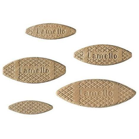 Lamello hêtre - N° : 10 - Hauteur : 53 mm - Largeur : 19 mm - LAMELLO