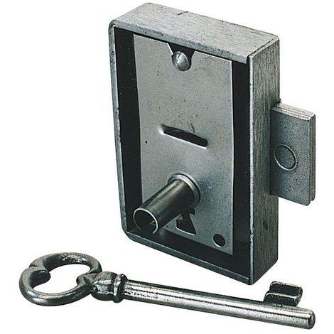 Serrure d'armoire - Axe : 35 mm - Sens : Gauche - Largeur : 60 mm - ITAR