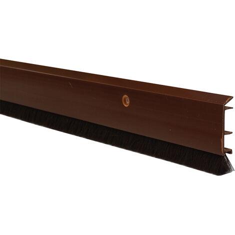 Bas de porte - Décor : Brun - Matériau : PVC - ITAR - Décor : Brun