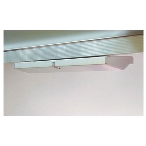 Réglette de tiroir leds -  :  - Puissance : 2 W -  :  - Fixation : En applique - Couleur de la lumière : Blanc neutre - Indice de protection : IP 20 - Décor : Aluminium - Type d'éclairage : LED - Lon - Indice de protection : IP 20