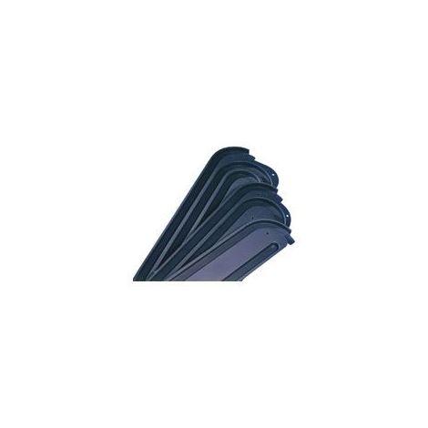 Rail escargot - Version : 4 voies - REHAU - Pour lame d'épaisseur : 8 mm