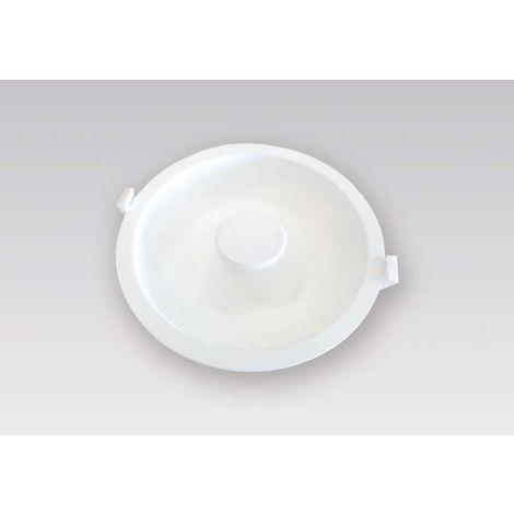 Spot led 220v de plafond extraplat encastrable - Puissance : 9,5 W - Encastrement : Ø 107 x 30 mm - Diamètre : 116 mm - Flux lumineux : 665 lm - L&S - Couleur de la lumière : Blanc neutre