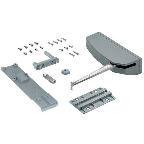 Push to move pour wingline l - Sens : Droit - Charge : 25 kg - Pour porte largeur maxi : 600 mm - HETTICH