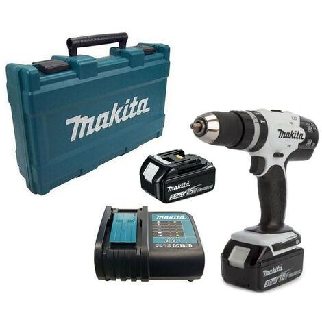 Makita DHP453SFE 18V Cordless Combi Drill with 2x 3.0Ah Batteries
