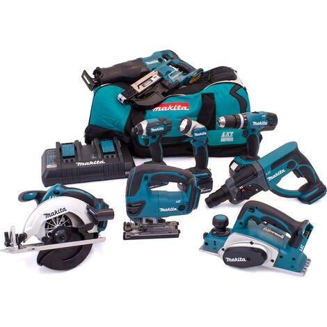 Makita DLX6068PT92 18V 9 Piece Kit 3x 5.0Ah Batteries