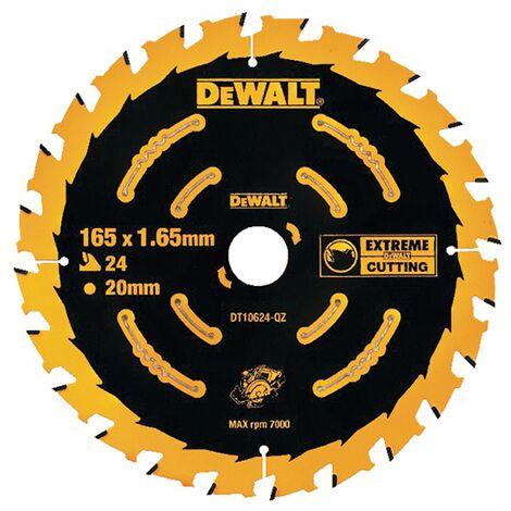 DeWalt DT10624 Circular Saw Blade Cordless Extreme Framing - 165 x 20mm 24T