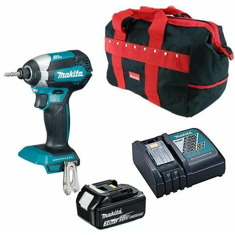 Makita DTD153RFX1 18V Brushless Impact Driver with 1x 3.0Ah Battery