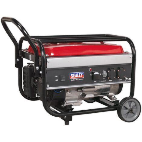Sealey G3101 4-Stroke Generator 3100W 230V 7hp