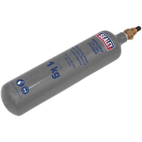 Sealey CO2/1KG/REFIL Gas Refill Carbon Dioxide 1000g