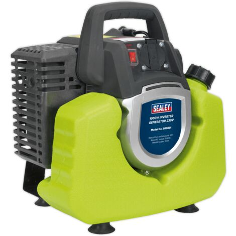 Sealey G1000I 2-Stroke Inverter Generator 1000W 230V