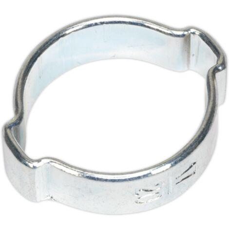 Sealey OCDE1720 O-Clip Double Ear Ø17-20mm Pack of 25
