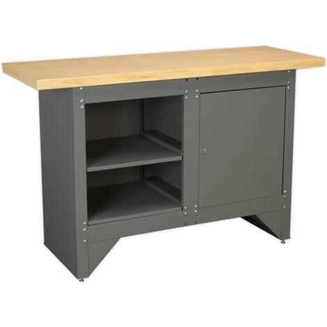 Sealey AP2010 Workbench with Cupboard Heavy-Duty