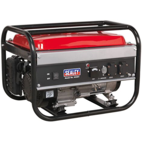 Sealey G2201 4-Stroke Generator 2200W 230V 6.5hp